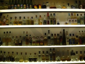 The Wall of Tequila