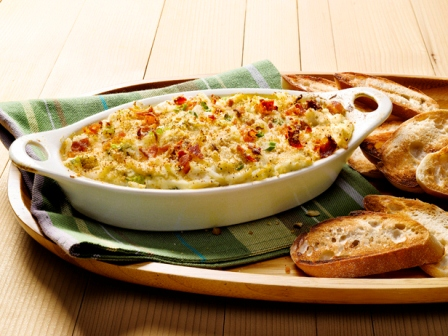 Crab and Bacon Dip with Fontina - Cooks and EatsCooks and Eats