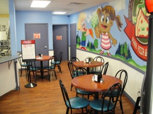 Park Pizza and Cream Interior