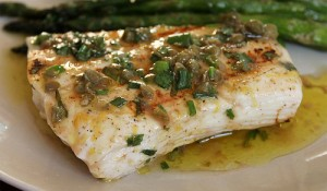 Herb Grilled Halibut with Citrus