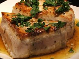 Grilled Swordfish with Thai Peanut Sauce