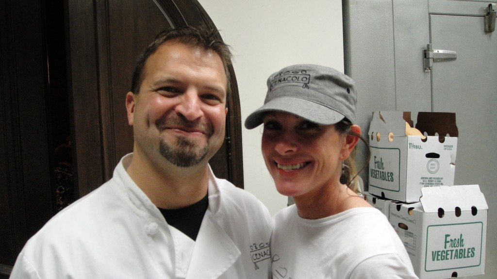 Chef Steve Salvi and his wife, Jen