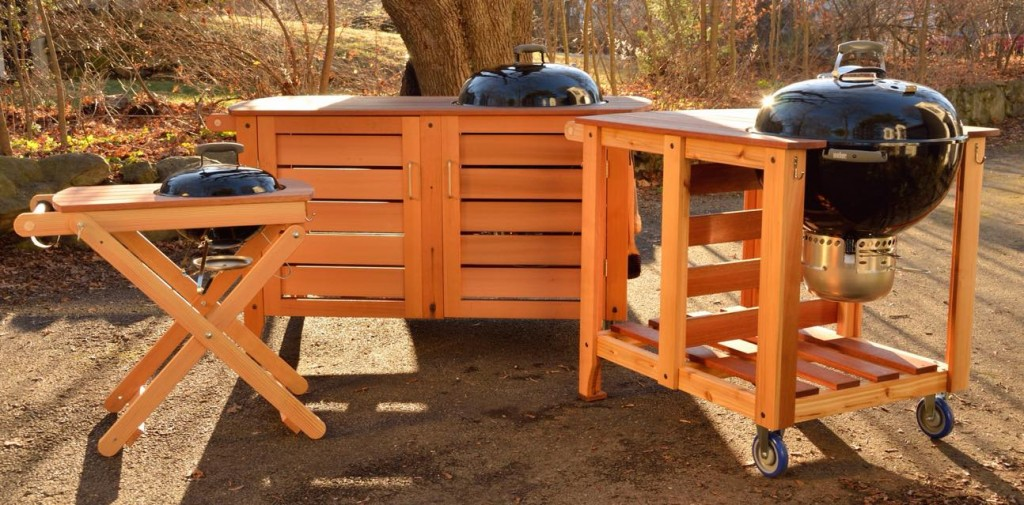 Handcrafted Grilling Furniture