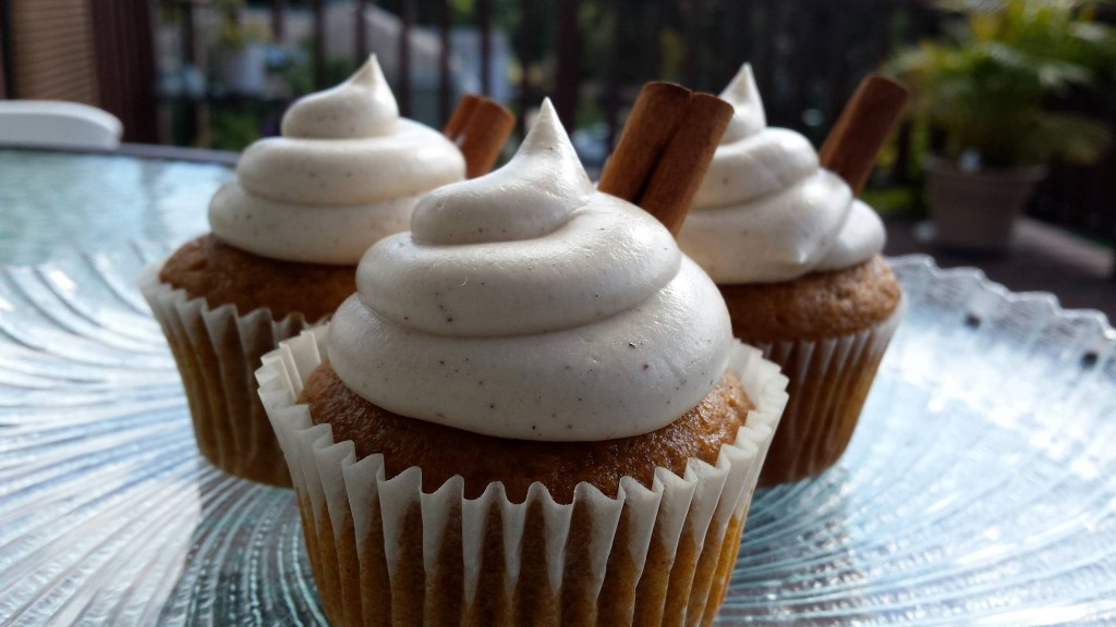 Cinna-Pumpkin Cupcake