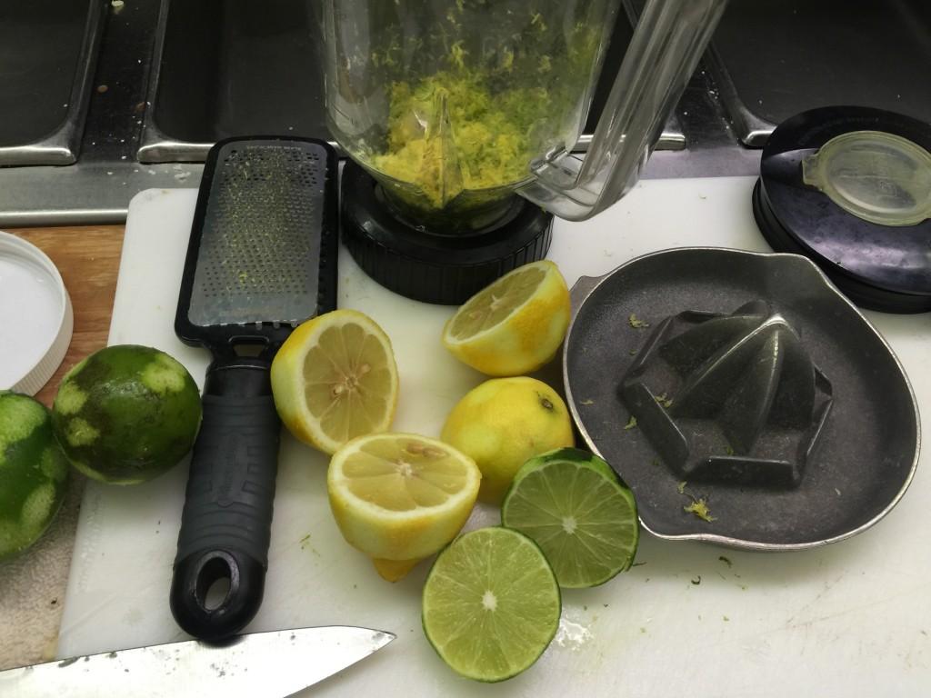 Citrus Zest and Juice