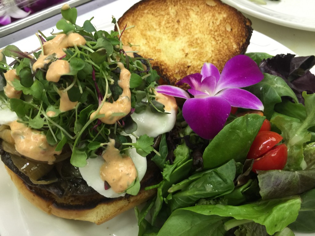 Grilled Portobello Sandwich