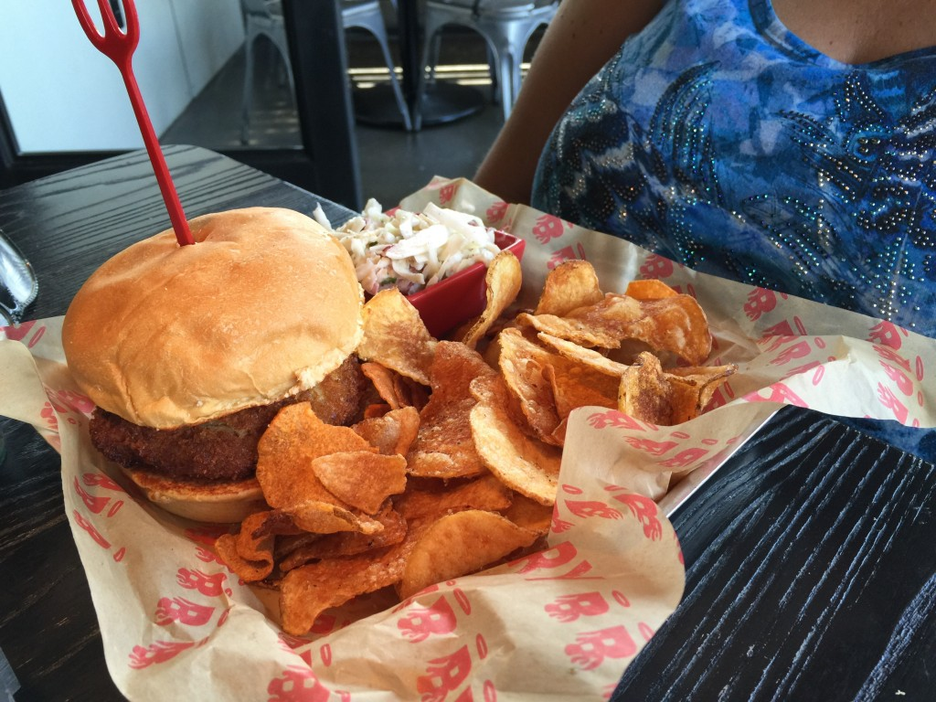Crab Shack Burger