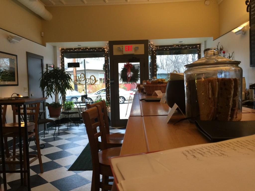 City Cafe' Interior