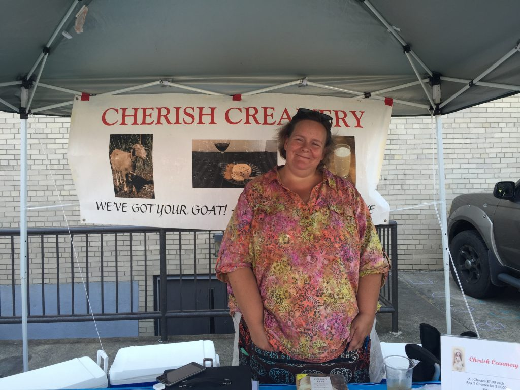 Chef Cassi from Cherish Creamery