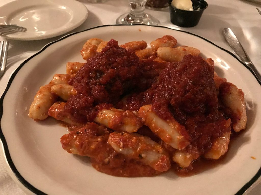Gnocchi with Meatballs